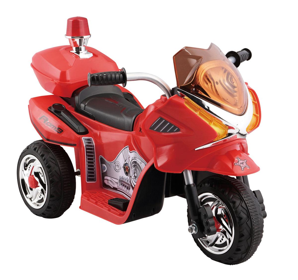 1TOY Мотоцикл аккумуляторный цвет красный - Электромобили