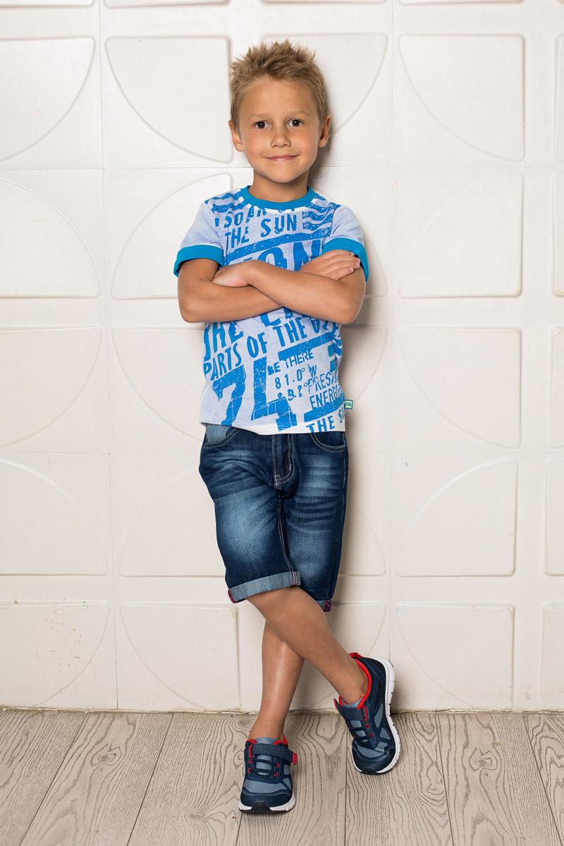 Шорты для мальчика Sweet Berry, цвет: синий. 713032. Размер 98