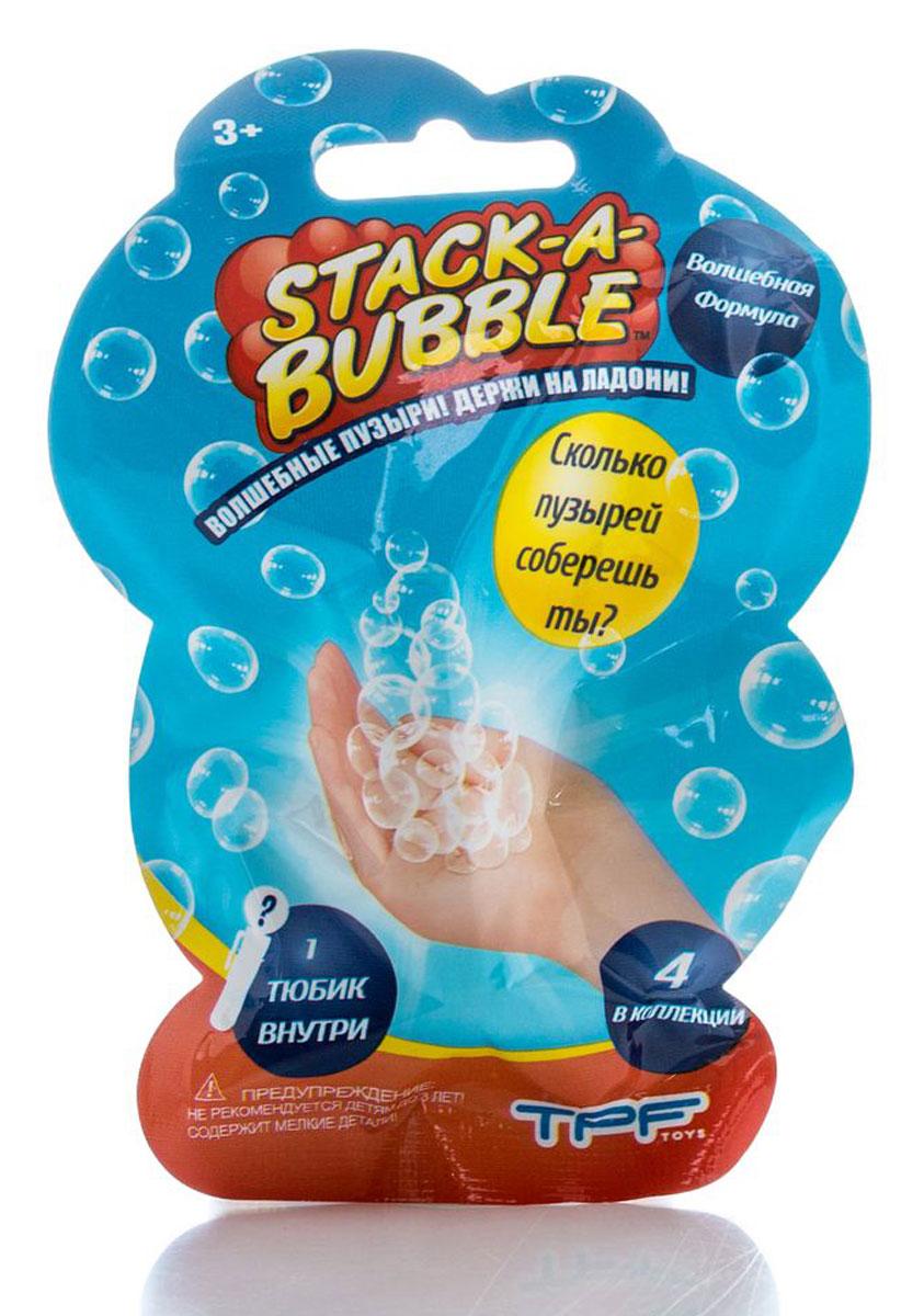 Stack-A-Bubble Мыльные пузыри Застывающие-мини paddle bubble 278213 мыльные пузыри 60 мл с набором ракеток