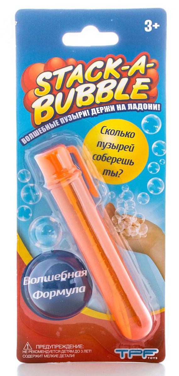 Stack-A-Bubble Мыльные пузыри Застывающие цвет оранжевый 22 мл paddle bubble 278213 мыльные пузыри 60 мл с набором ракеток