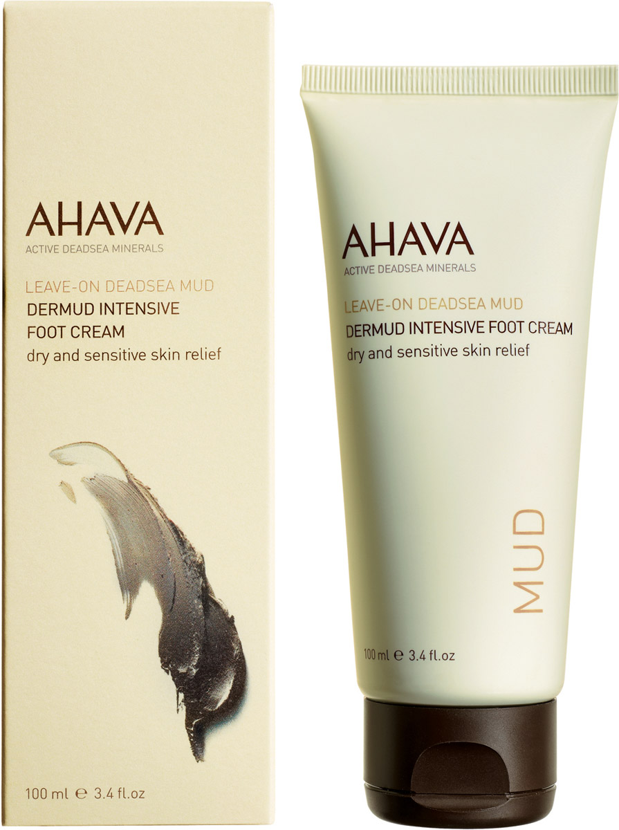 Ahava Deadsea Mud М Активный крем для ног dermud 100 мл ahava набор duo deadsea mud набор дуэт page 11