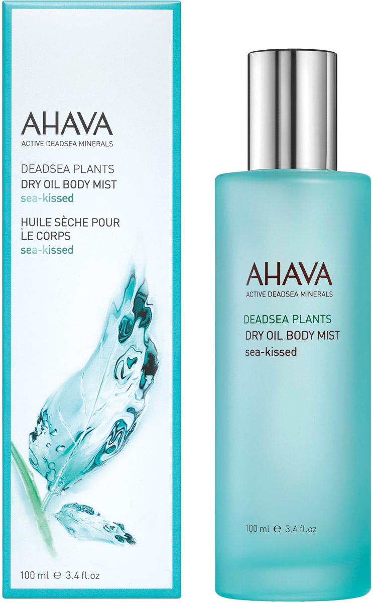 Ahava Deadsea Plants Сухое масло для тела sea kissed100 мл масла ahava deadsea plants сухое масло для тела опунция и моринга 100 мл