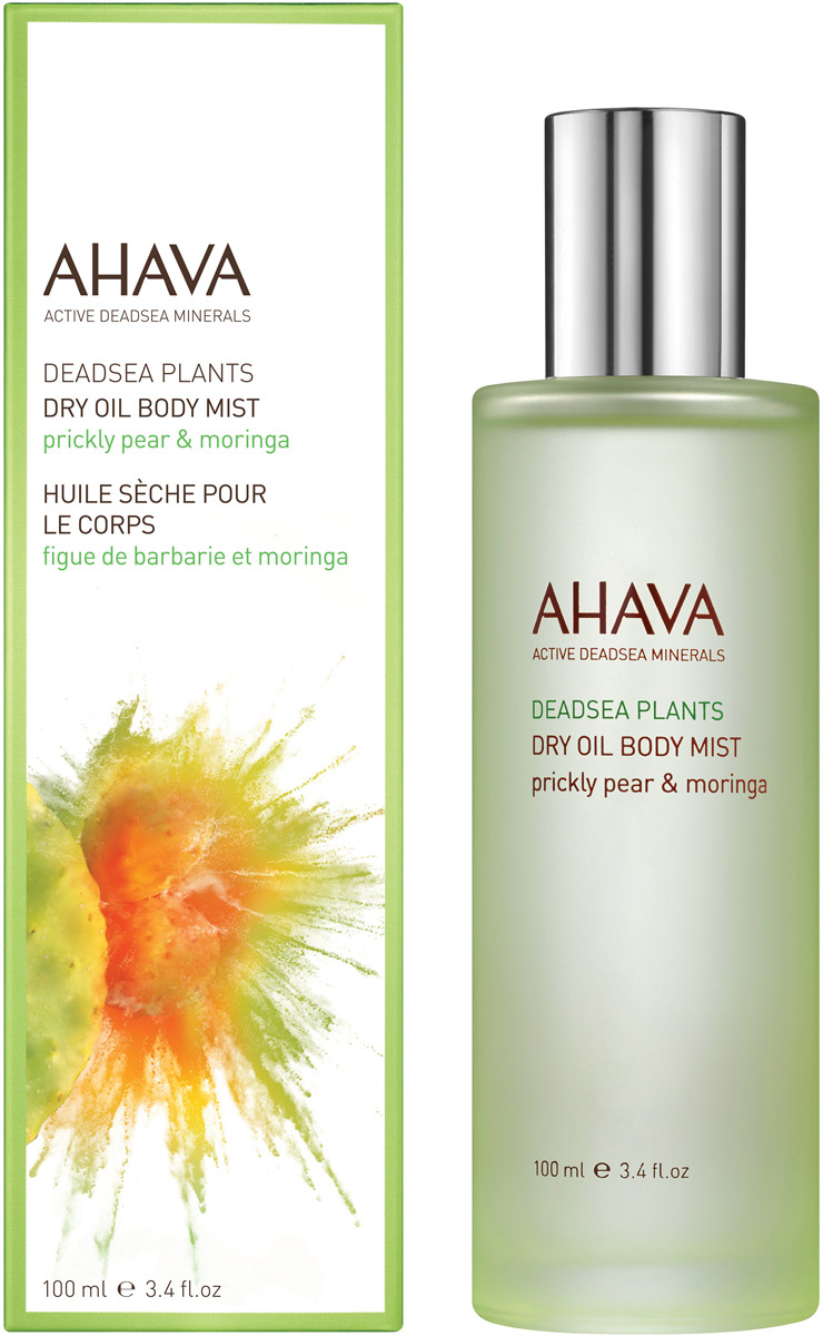 Ahava Deadsea Plants Сухое масло для тела опунция и моринга 100 мл ahava deadsea water body trio набор deadsea water body trio набор