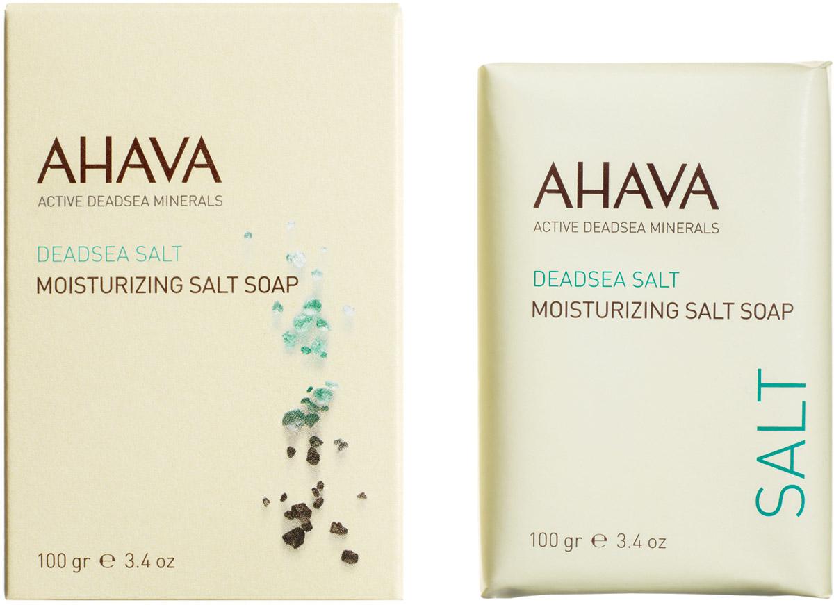 Ahava Deadsea Salt М Мыло на основе соли мертвого моря 100 гр ahava сухое масло для тела sea kissed deadsea plants 100 мл сухое масло для тела sea kissed deadsea plants 100 мл 100 мл
