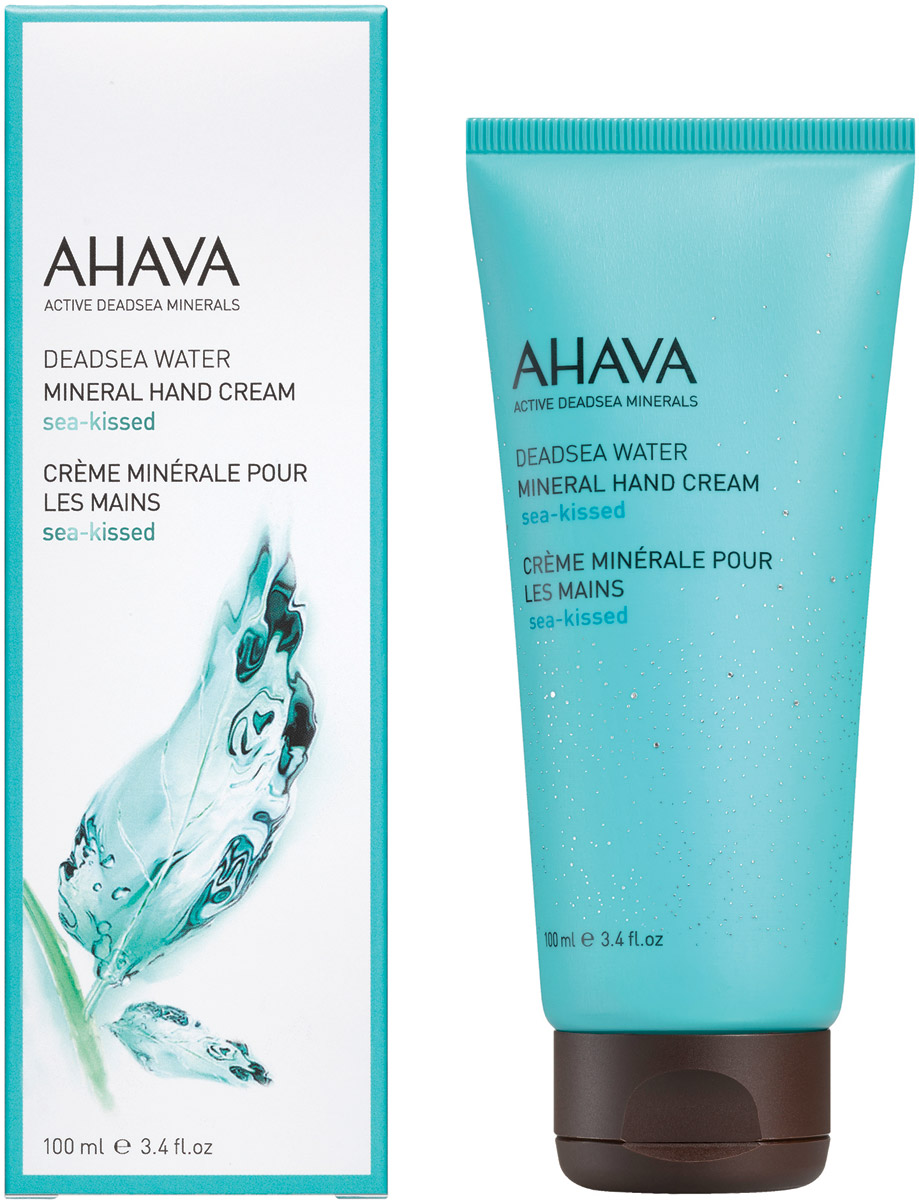 Ahava Deadsea Water М Минеральный крем для рук sea kissed 100 мл ahava deadsea water body trio набор deadsea water body trio набор