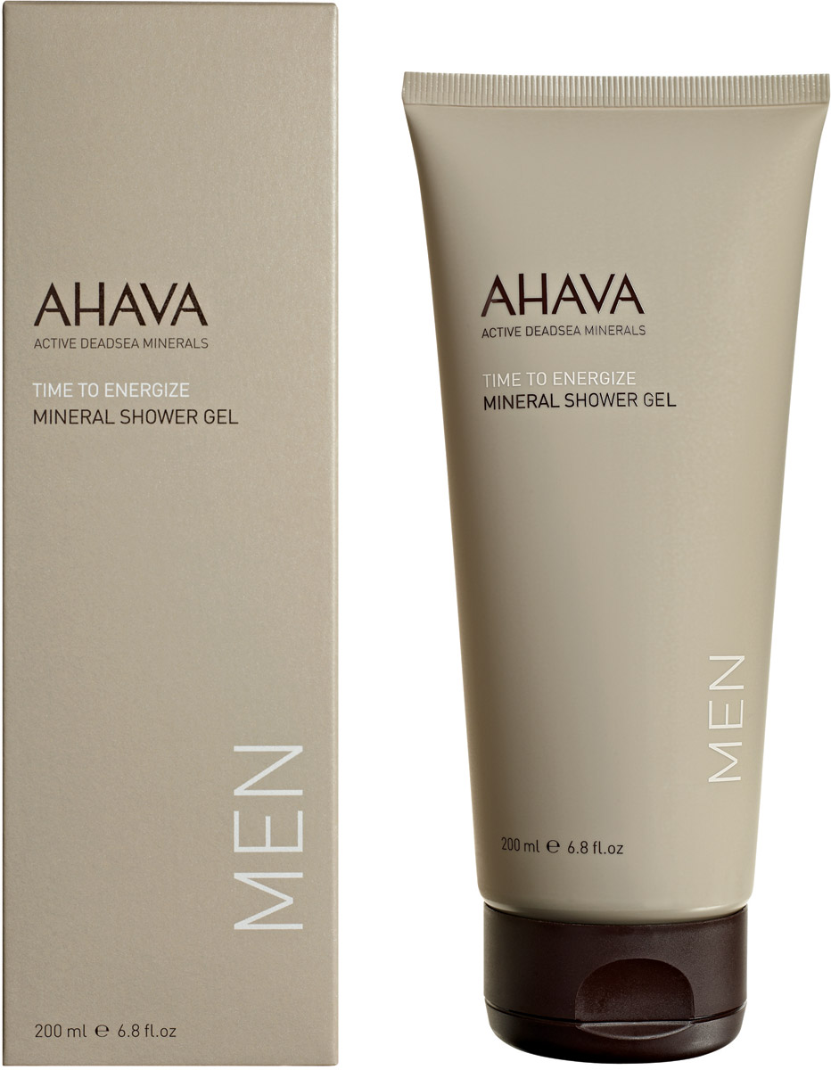 Ahava Time To Energize Минеральный гель для душа 200 мл ahava time to energize крем для бритья без пены time to energize крем для бритья без пены