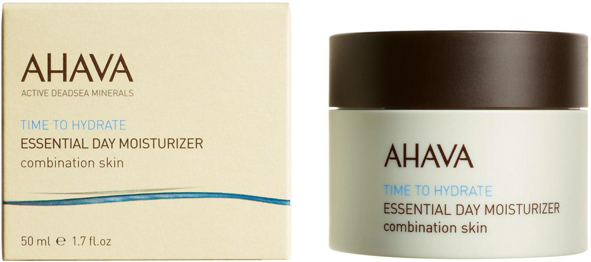 Ahava Time To Hydrate Базовый увлажняющий дневной крем для комбинированной кожи 50 мл80115065Кремово-гелевая текстура. Ультра легкий увлажняющий крем идеально подходит для комбинированной кожи. Обеспечивает необходимое ежедневное увлажнения, делает кожу мягкой, устраняет жирный блеск.