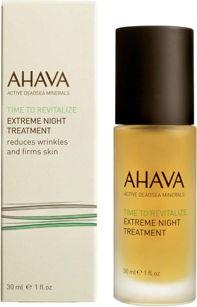 Ahava Time To Revitalize Радикально восстанавливающий ночной крем 30 мл ahava крем для бритья без пены time to energize 200 мл