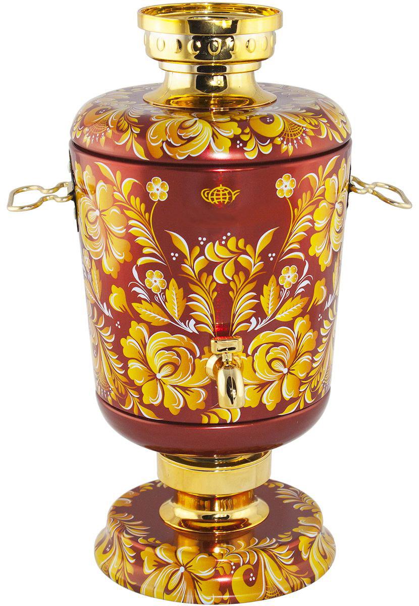 Самовар Красный чай листовой, 75 г4603224147139Купаж индийского и цейлонского черного крупнолистового чая и китайского зеленого чая сенча с добавлением цветков розы, жасмина, подсолнечника и сафлора, ароматизированный натуральными маслами клубники, ананаса и винограда. Поставляется в подарочной банке в виде жестяного самовара, упакованного в коробку.Всё о чае: сорта, факты, советы по выбору и употреблению. Статья OZON Гид