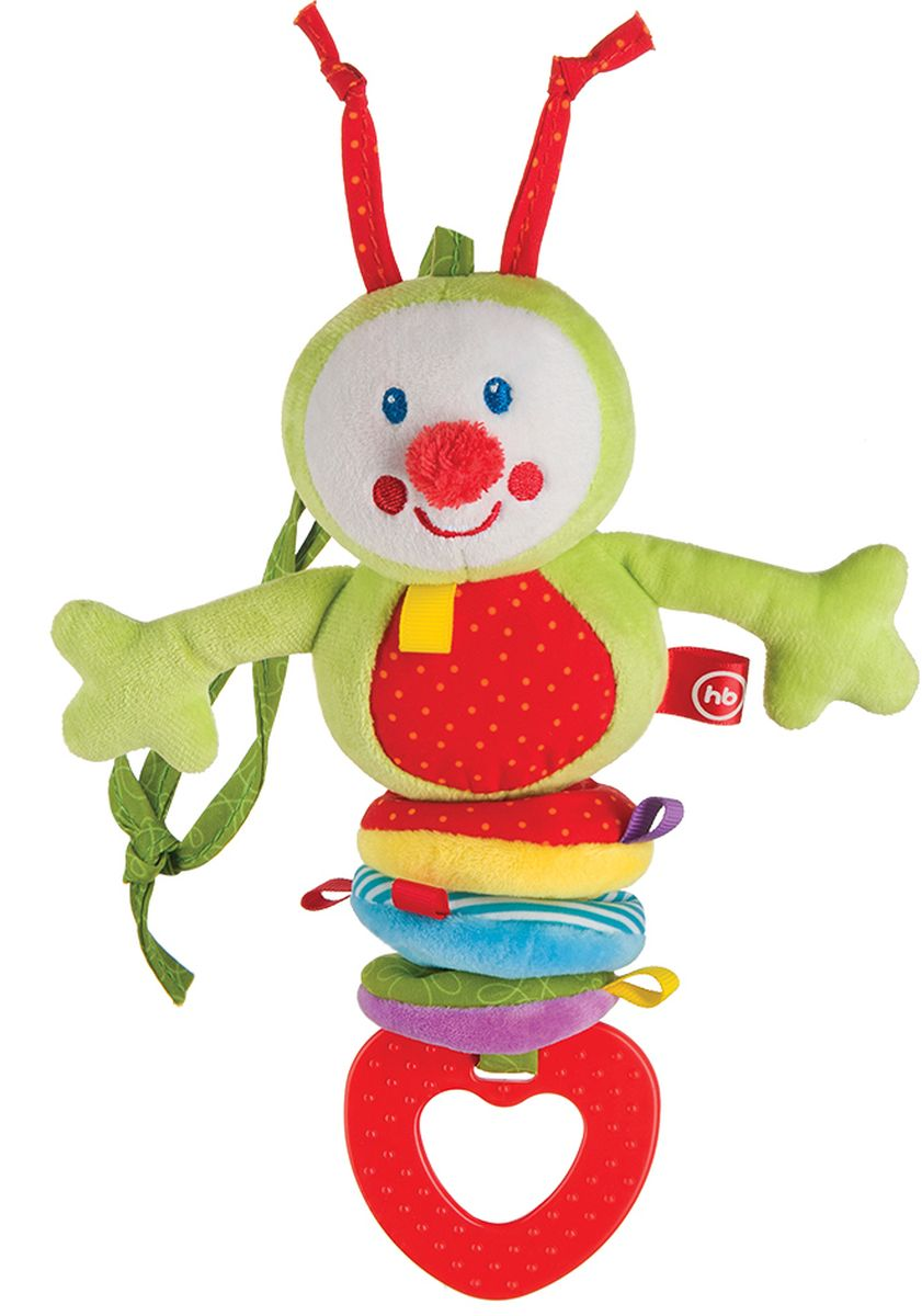 Happy Baby Погремушка Chatty Caterpillar любимая игрушка создателя