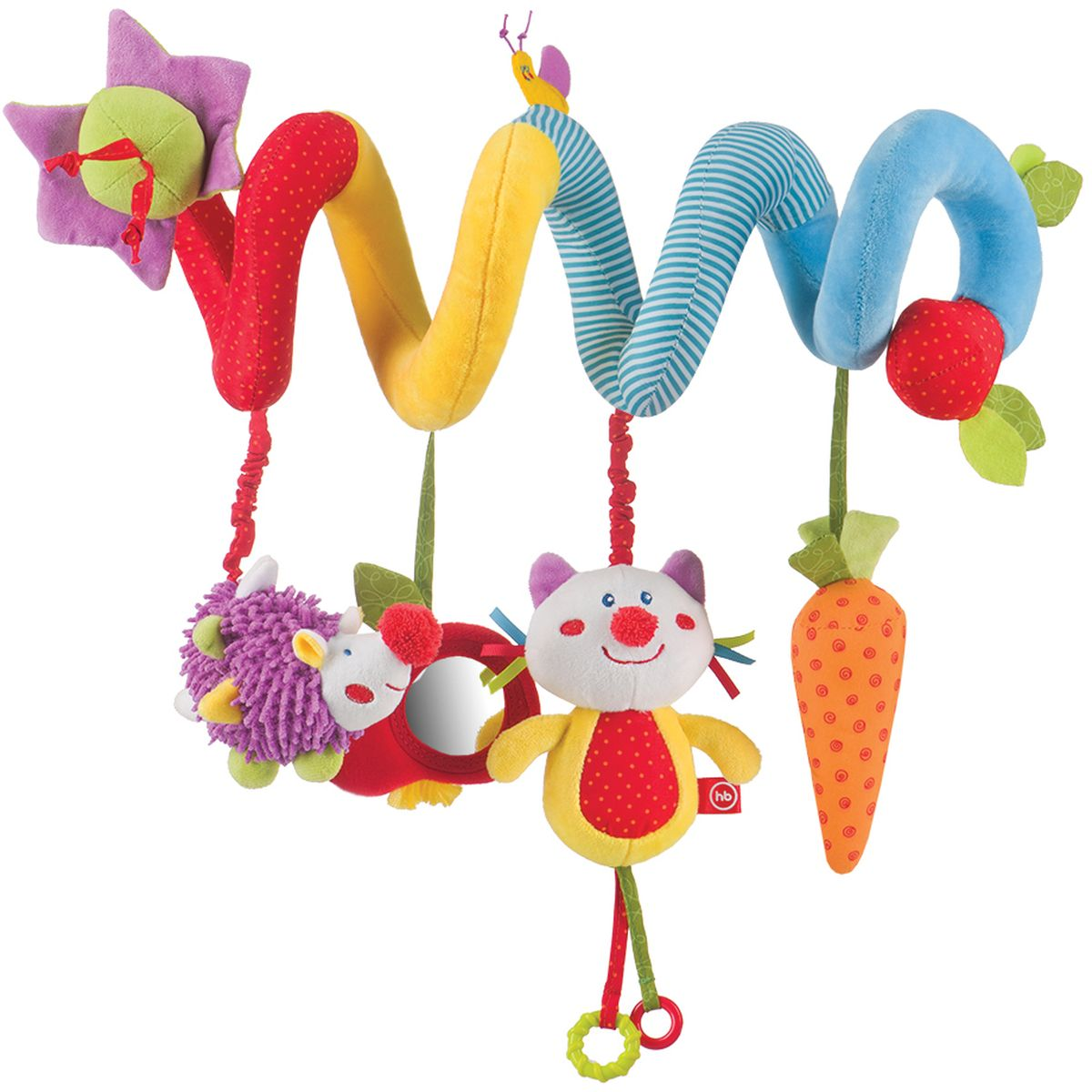 Happy Baby Игрушка-подвеска Pretty Garden happy baby spiral educational toy pretty garden