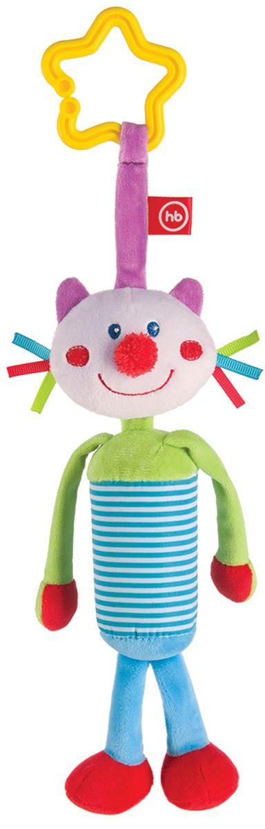 Happy Baby Развивающая игрушка Колокольчик Perky Kitty happy baby развивающая игрушка пищалка cheepy kitty