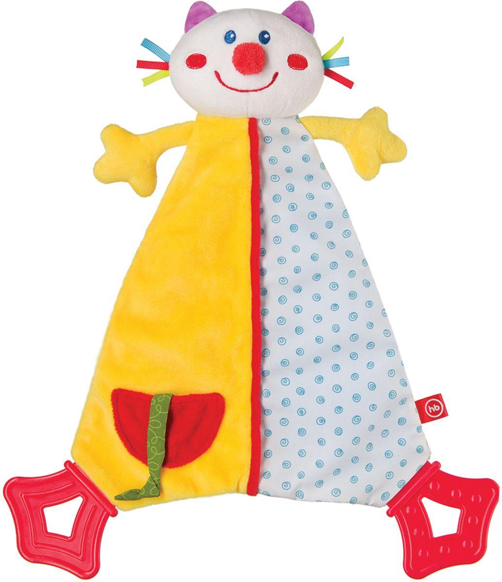 Happy Baby Развивающая игрушка Платок Dreamy Kitty развивающая игрушка пищалка happy baby cheepy kitty