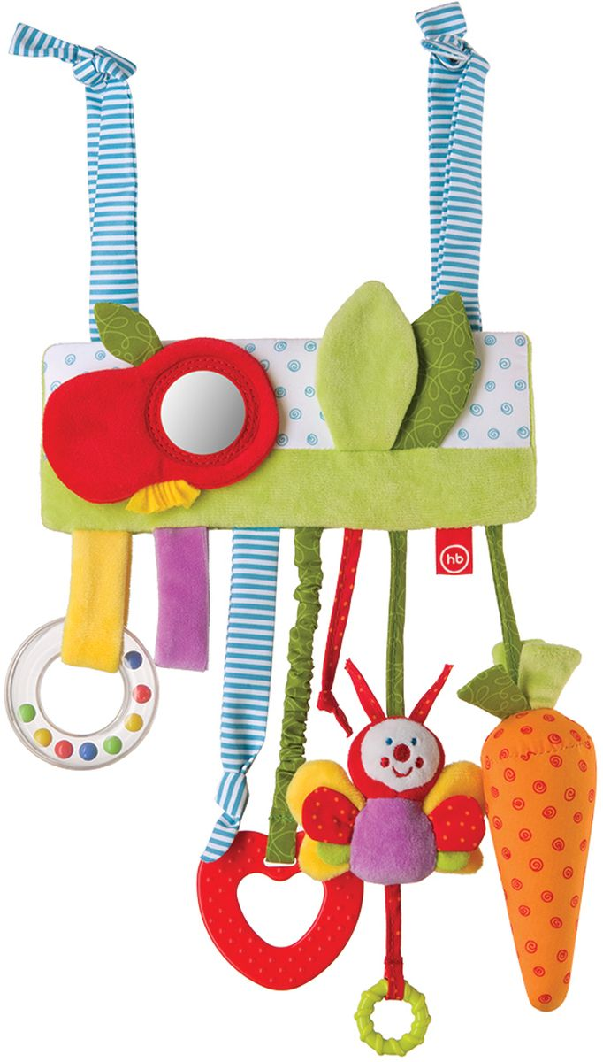 Happy Baby Игрушка-подвеска Jolly Garden happy baby spiral educational toy pretty garden
