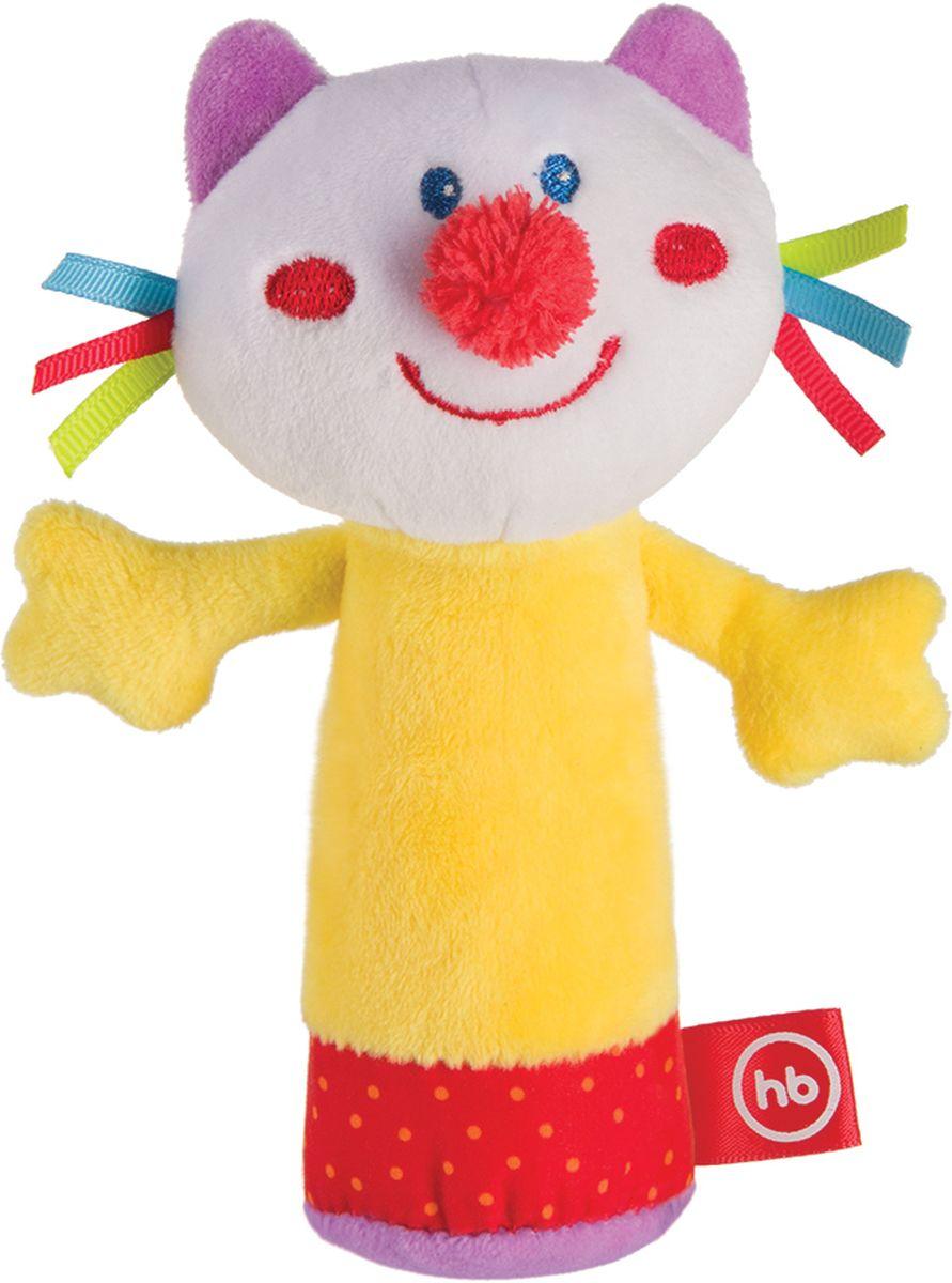 Happy Baby Развивающая игрушка-пищалка Cheepy Kitty