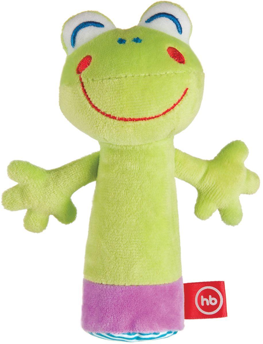 Happy Baby Развивающая игрушка-пищалка Cheepy Frogling