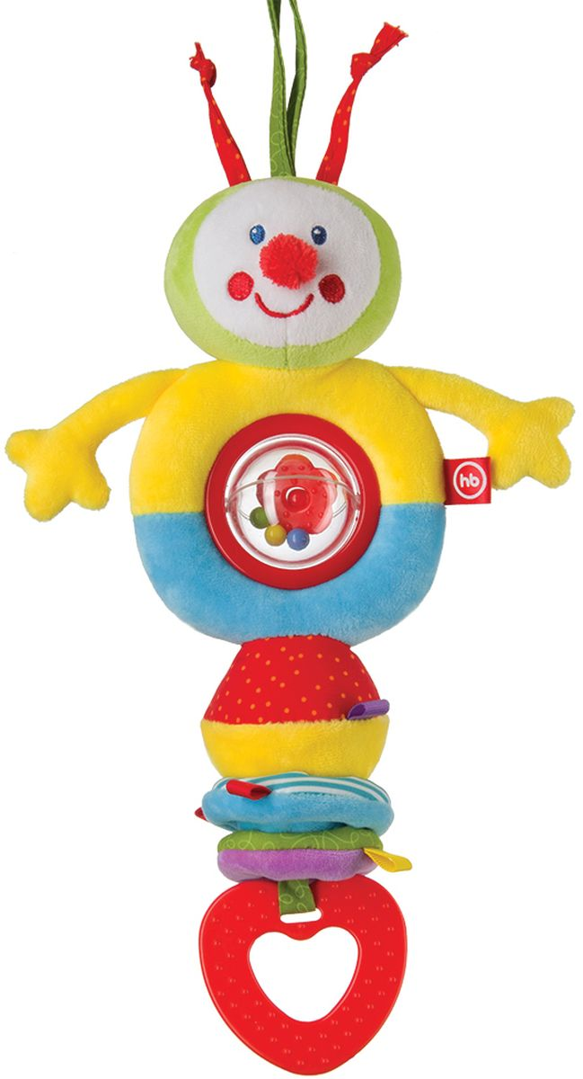 Happy Baby Погремушка Talky Caterpillar любимая игрушка создателя
