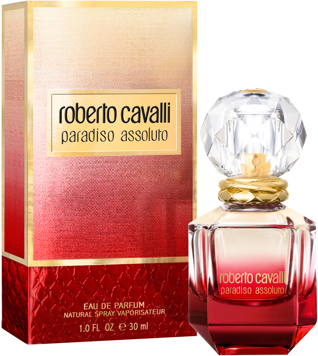 Roberto Cavalli Paradiso Assoluto женская Парфюмерная вода 30 мл