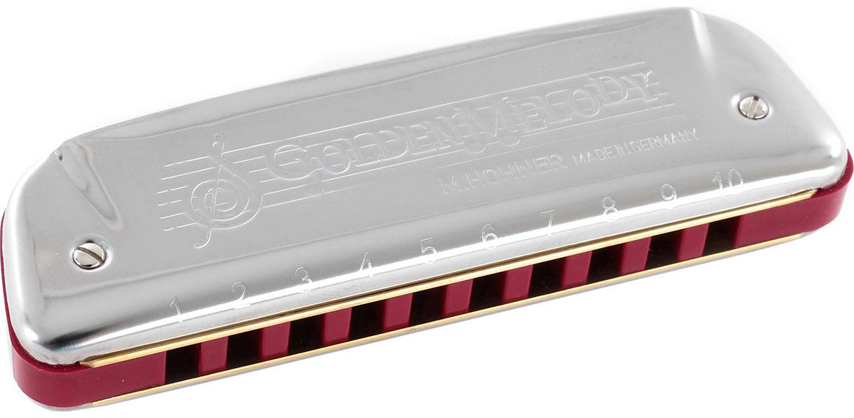 Hohner Golden Melody 542/20 D (M542036X) губная гармошка - Духовые инструменты