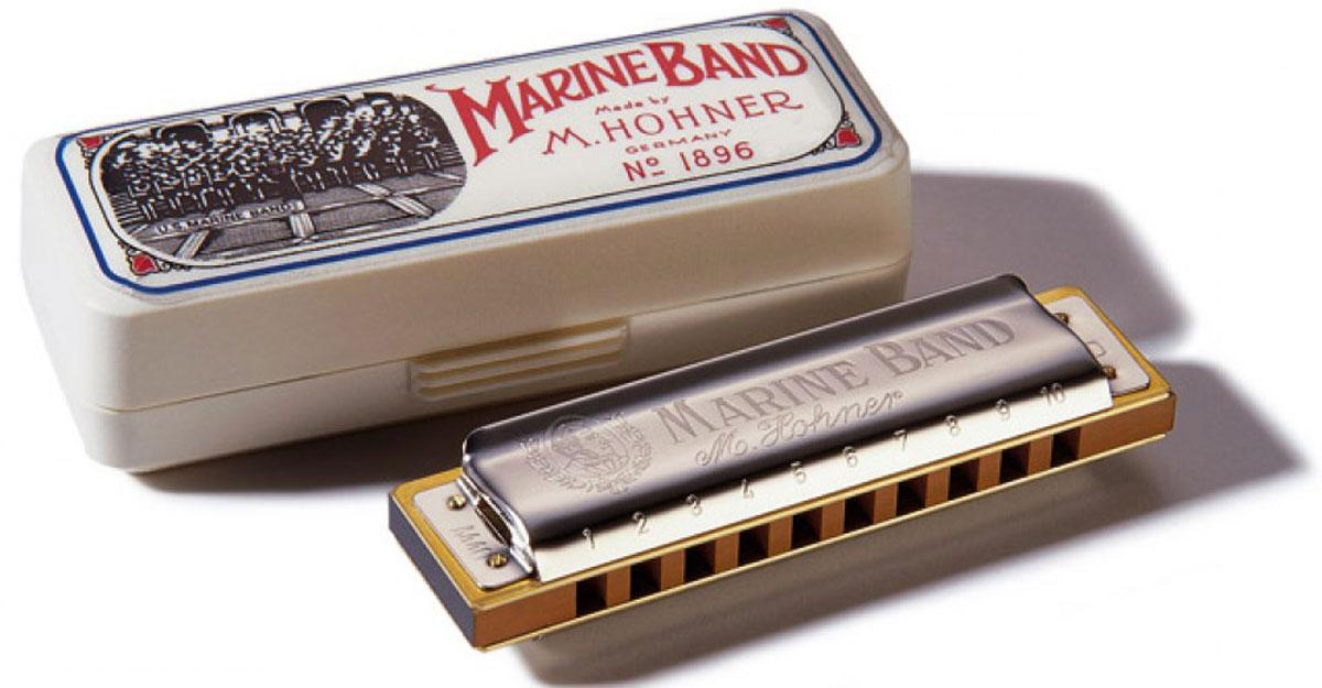 Hohner Marine Band 1896/20 A (M1896106X)губная гармошка Hohner