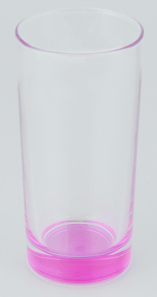 """Стакан ОСЗ """"Лак"""" изготовлен из высококачественного стекла, которое изысканно блестит и переливается на свету.  Такой стакан отлично дополнит вашу коллекцию кухонной утвари и порадует вас ярким необычным дизайном и практичностью. Диаметр стакана: 6,5 см. Высота стакана: 14 см."""