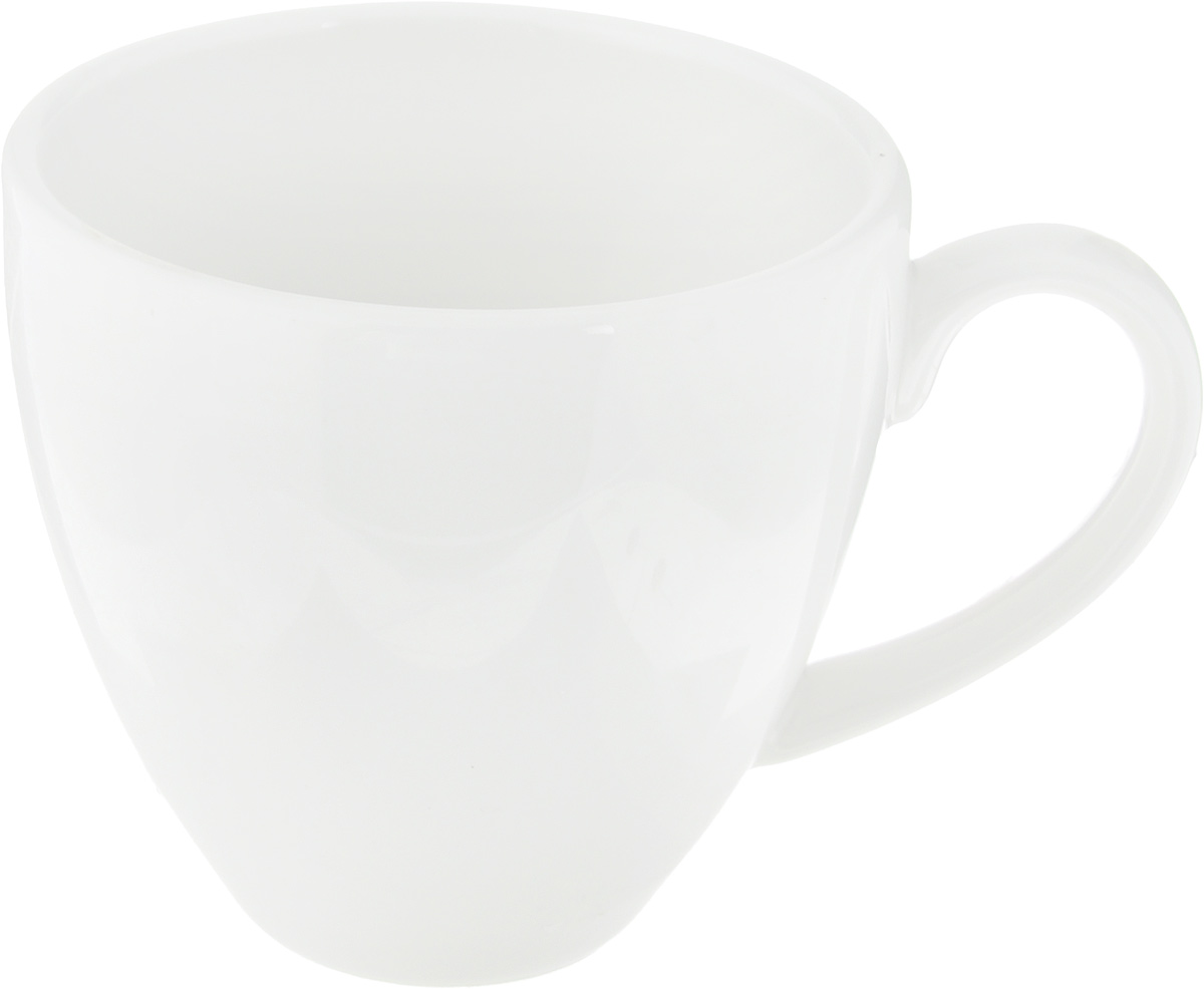 """Чашка кофейная Ariane """"Прайм"""" выполнена из высококачественного фарфора. Посуда из такого материала позволяет сохранить истинный вкус напитка, а также помогает ему дольше оставаться теплым. Белоснежность изделия дарит ощущение легкости и безмятежности.  Диаметр чашки (по верхнему краю): 6,5 см. Высота чашки: 6 см.Объем чашки: 90 мл."""