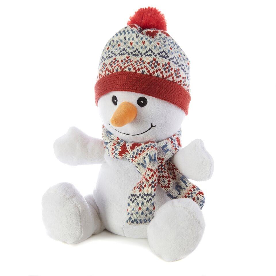 Warmies Мягкая игрушка-грелка Снеговик