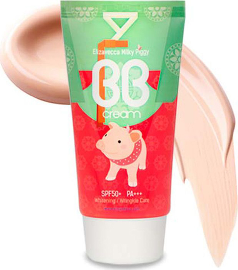 Elizavecca ББ крем Milky Piggy BB Cream, 50 мл пилинг elizavecca milky piggy real whitening time secret peeling cream объем 100 г