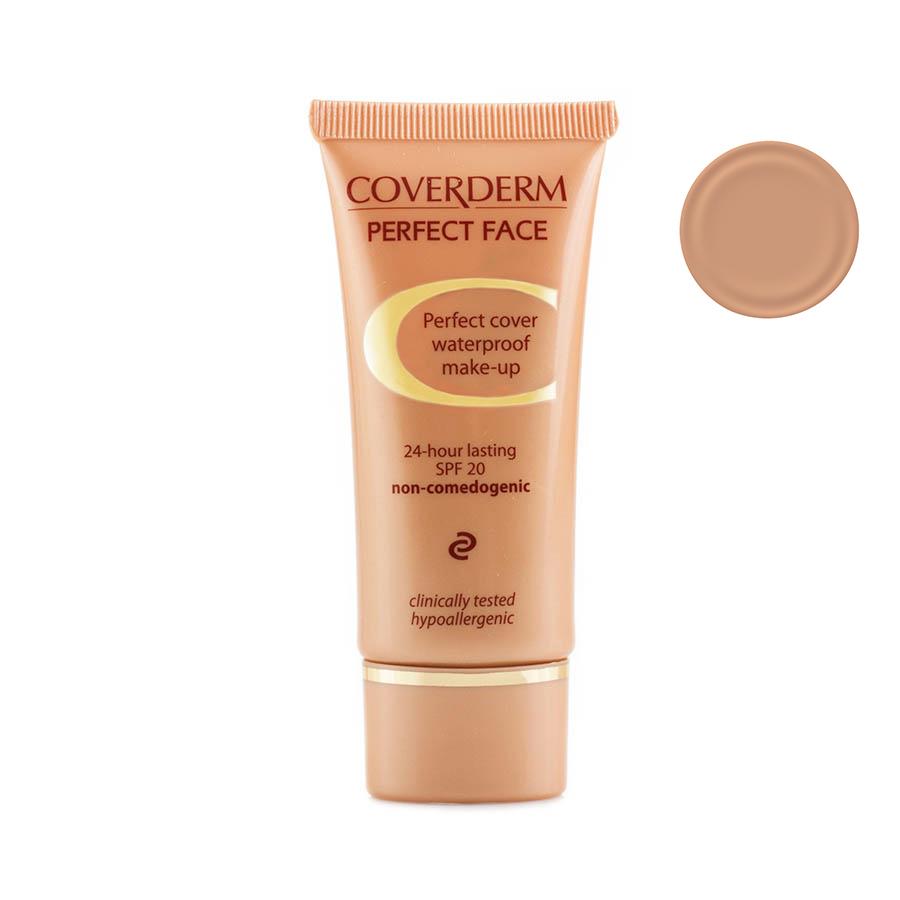 Coverderm Perfect Face Тональный крем Тон №5, Camouflage SPF 20, 30мл - Декоративная косметика