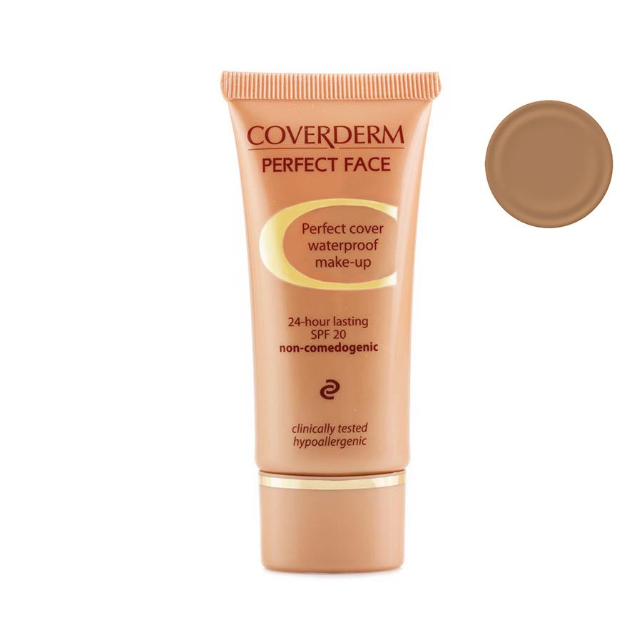 Coverderm Perfect Face Тональный крем Тон №8, Camouflage SPF 20, 30мл - Декоративная косметика