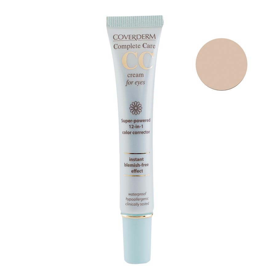 Coverderm Complete Care CC Крем для области вокруг глаз, Тон Светло-коричневый SPF15, 15млС2101/SBУход и Макияж в одном средстве! Комплексный уход по 12 пунктам в 1 средстве! Выравнивает цвет, подстраиваясь под собственный тон кожи. Ухаживает за тонкой кожей под глазами, благодаря своему многокомпонентному составу устраняет темные круги под глазами, действует против морщин, эффективен против мешков под глазами.