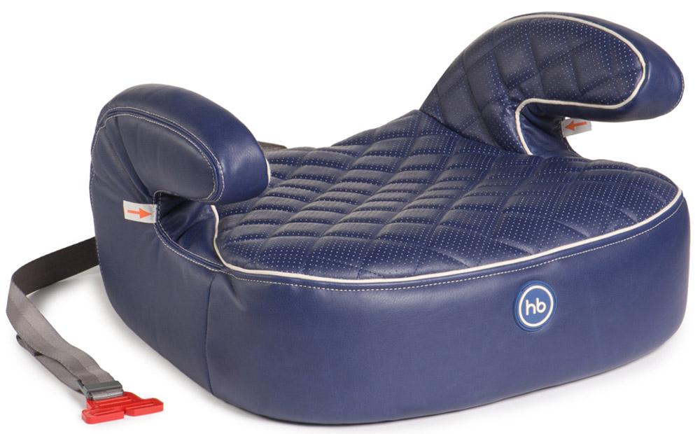 Happy Baby Бустер Booster Rider Deluxe Blue4650069780366Happy Baby Rider Deluxe - автокресло без спинки с мягкими подлокотниками, которое позволяет полноценно пристегнуть ребенка штатным ремнем безопасности и рассчитано на вес от 22 до 36 кг. Форма и крупные размеры бустера обеспечивают правильное положение в дороге, комфорт и максимальную безопасность. Стежка придает особую мягкость и делает сиденье уютным и комфортабельным для ребенка. Чехол из эко-кожи прост в уходе, при необходимости легко снимается для чистки. Крепится в автомобиле штатными 3-точечными ремнями безопасности и устанавливается лицом по ходу движения автомобиля.Возраст: от 3 лет Ширина посадочного места: 28 см Глубина посадочного места: 40 см Каркас: пенополипропилен