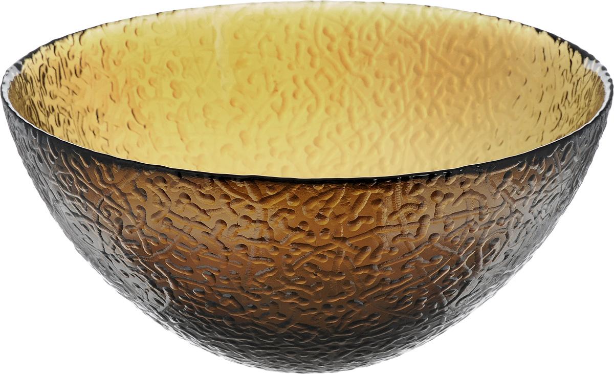 Салатник NiNaGlass Ажур, цвет: дымчатый, диаметр 20 см83-042-ф200_дымчатыйСалатник NiNaGlass Ажур выполнен из высококачественного стекла и декорирован рельефным узором. Идеален для сервировки салатов, овощей и фруктов, ягод, вторых блюд, гарниров и многого другого. Он отлично подойдет как для повседневных, так и для торжественных случаев.Такой салатник прекрасно впишется в интерьер вашей кухни и станет достойным дополнением к кухонному инвентарю.Диаметр салатника (по верхнему краю): 20 см.Высота стенки: 9 см.