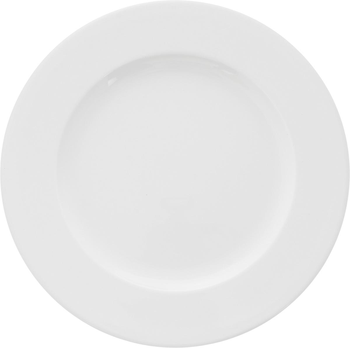 Тарелка мелкая Ariane Прайм, диаметр 21 смAPRARN11021Мелкая тарелка Ariane Прайм, изготовленная из высококачественного фарфора, имеет классическую круглую форму. Такая тарелка прекрасно подходит как для торжественных случаев, так и для повседневного использования. Идеальна для подачи десертов, пирожных, тортов и многого другого. Она прекрасно оформит стол и станет отличным дополнением к вашей коллекции кухонной посуды.Можно мыть в посудомоечной машине и использовать в микроволновой печи. Высота: 2 см.Диаметр тарелки: 21 см.
