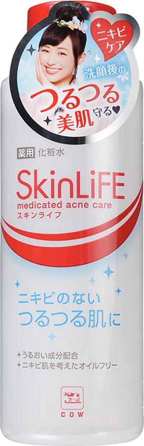 COW 00325gs Skinlife Лосьон для лица с антибактериальным эффектом 150 мл00325gsЛосьон хорошо увлажняет кожу, размягчает ороговевший слой, уменьшает видимость пор, очищает кожу и предотвращает появление воспалений, делая кожу гладкой и красивой. В состав лосьона входят антибактериальные и дезинфицирующие компоненты (изопропил метил фенол, глицирризинат дикалия), а также увлажняющие компоненты (фруктовые кислоты, экстракт лимона, гиалуроновая кислота). Не содержит отдушек.