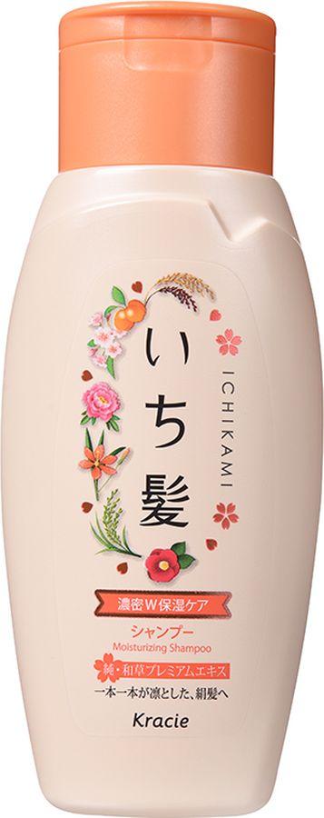 Kracie 72151kr Ichikami Шампунь интенсивно увлажняющий для поврежденных волос с маслом абрикоса 150 мл72151krНа протяжении многих веков красота женщины в Японии определялась, прежде всего, красотой и здоровьем ее волос. Уникальная формула натуральных экстрактов японских и китайских растений обеспечивает питательными и увлажняющими веществами, необходимыми для роста сильных и здоровых волос. Не содержит силикона и сульфатов.В составе: экстракт корня пиона древовидного, ферментированный черный рис ?, компонент Kome EX-S (отвар из отборного риса), экстракт фасоли угловатой, масло абрикоса, экстракт цветков чайного дерева, экстракт сакуры, экстракт камелии японской, экстракт беламканды китайской, экстракт мыльных орехов.С ароматом цветущей горной сакуры и сладкого абрикоса.