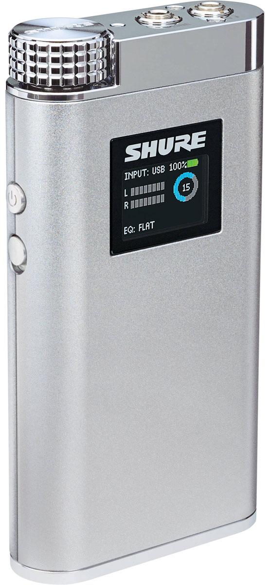 Shure SHA900, Silver усилитель для наушников - Hi-Fi компоненты