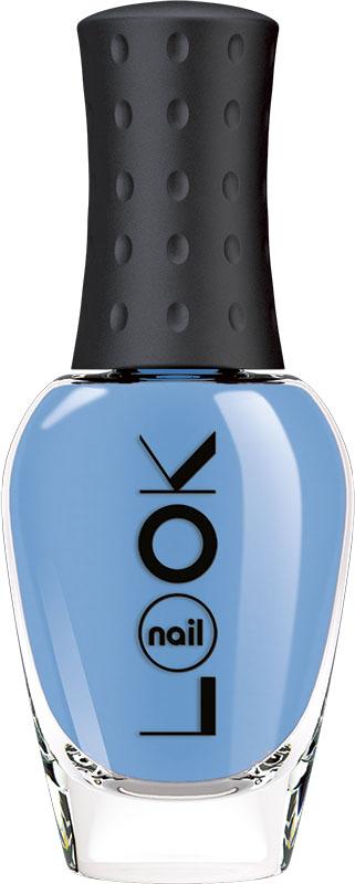 Фото Nail LOOK Лак для ногтей Nail LOOK серии Cream Line, оттенок нежный сине-голубой 8,5 мл