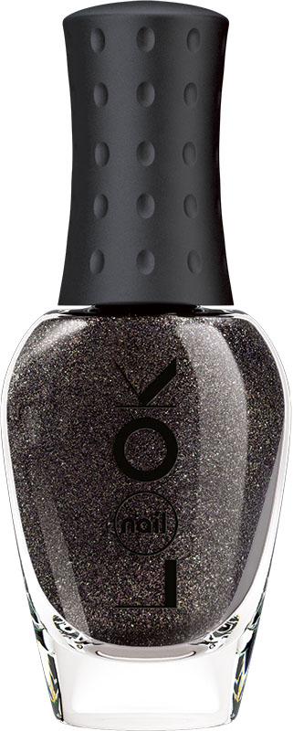 Nail LOOK Лак для ногтей Nail LOOK серии Real Sugar Glitz, Black Diamond, 8,5 мл