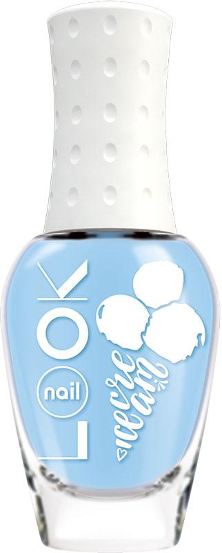 Nail LOOK Лак для ногтей Nail LOOK серии Yummy Ice Cream, Blue Marshmallow, 8,5 мл31495Лето-пора беззаботного веселья, отдыха, ярких нарядов и буйства красок. В жаркую погоду хочется побаловать себя чем то вкусным и освежающим. Представляем игривую и вкусную летнюю коллекцию Yummy Ice Cream. Воздушный и притягательный, как любимый девичий десерт. Этот насыщенный голубой оттенок выйграшно смотрится и с легким платьем, и с шортами из денима.