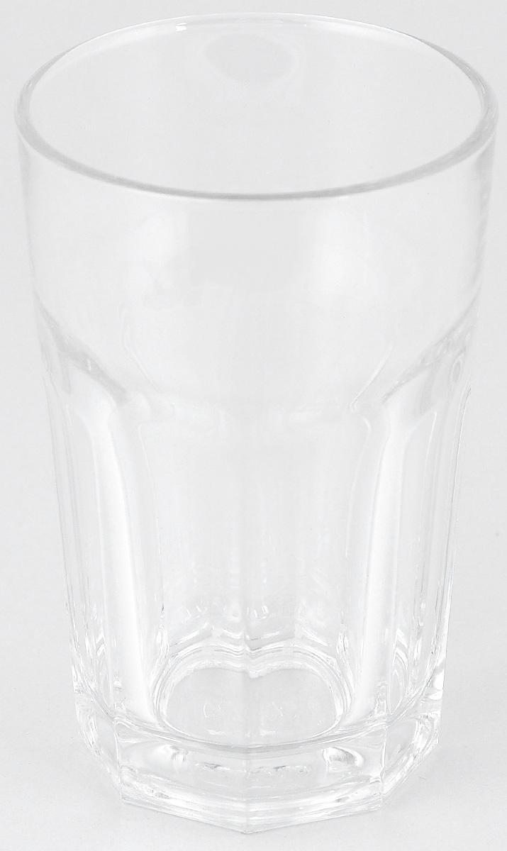 Стакан Pasabahce Касабланка, 295 мл52713SLT/Стакан Pasabahce Касабланка изготовлен из прозрачного стекла. Идеально подходит для сервировки стола.Стакан не только украсит ваш кухонный стол, но и подчеркнет прекрасный вкус хозяйки. Диаметр стакана (по верхнему краю): 8 см. Высота стакана: 12 см.
