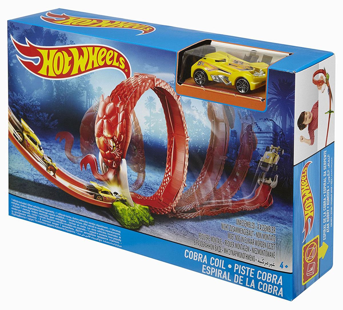 Hot Wheels Игрушечный трек Кольцо кобры