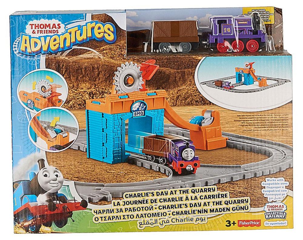 Thomas & Friends Железная дорога Чарли за работой eichhorn вагон с цистерной