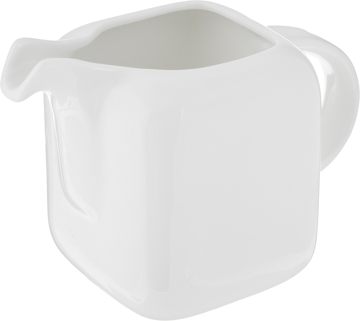 """Молочник Ariane """"Vital Square"""" изготовлен из высококачественного фарфора с глазурованным покрытием. Изделие предназначено для сервировки сливок или молока. Такой молочник отлично подойдет как для праздничного чаепития, так и для повседневного использования. Изделие функциональное, практичное и легкое в уходе. Можно мыть в посудомоечной машине и использовать в СВЧ.Размер молочника (по верхнему краю): 5 х 5 см.Диаметр основания: 8 см.Высота: 10 см."""