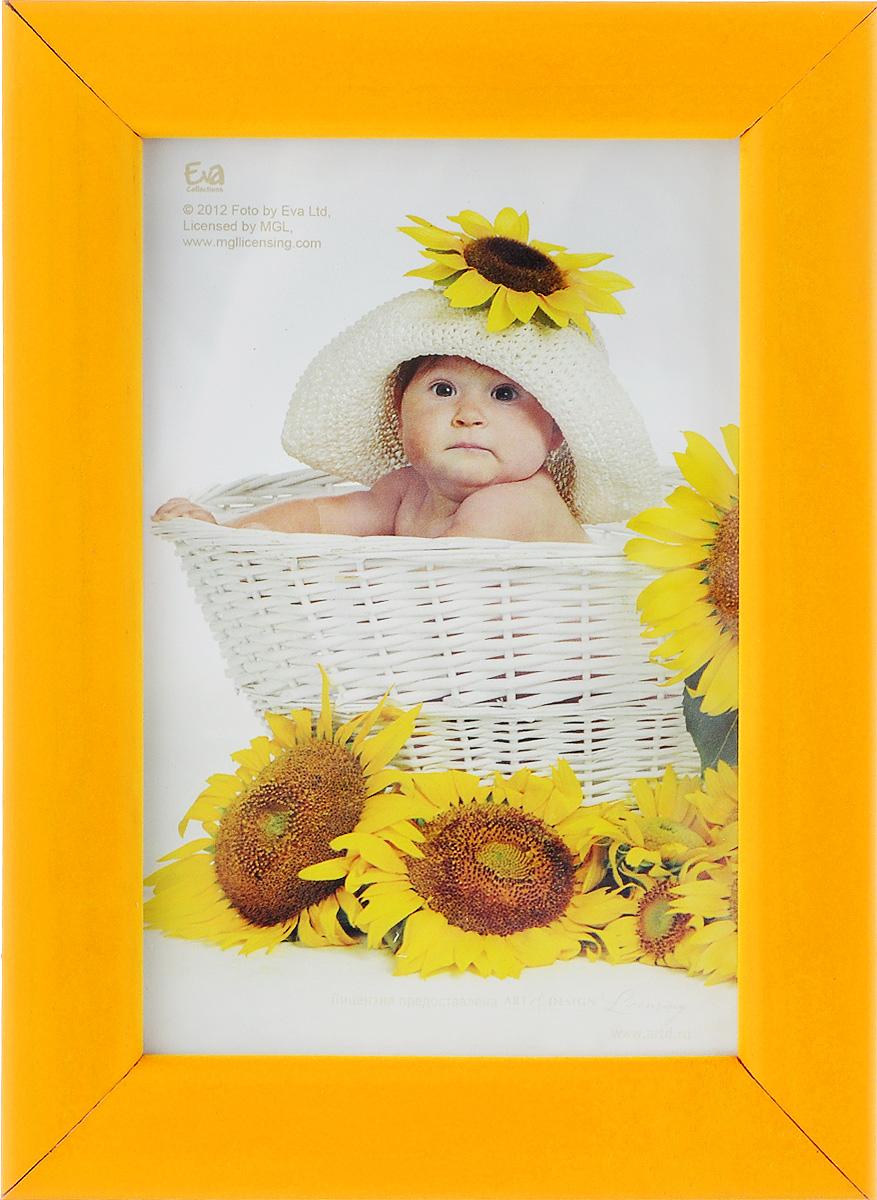 Фоторамка Vertigo Eva Freya, цвет: желтый, 10 х 15 см andale pictures screen gems vertigo entertainment