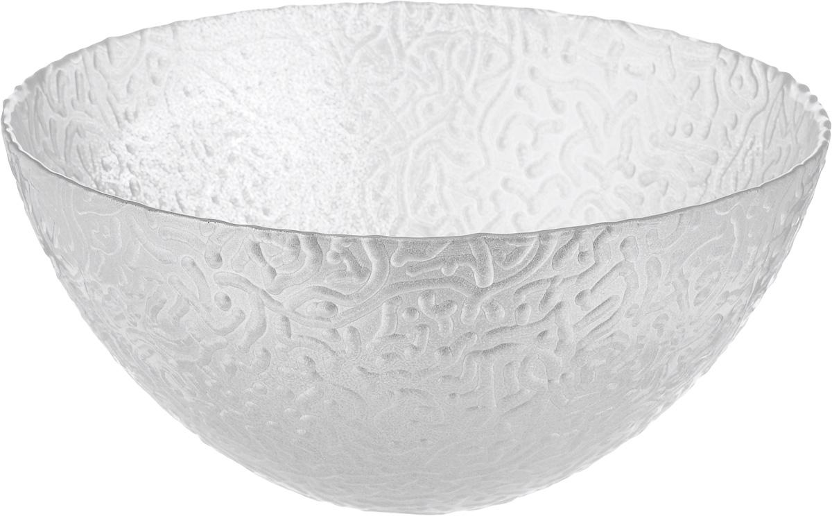 Салатник NiNaGlass Ажур, цвет: серебряный, диаметр 20 см83-042-Ф200 СЕРЕБМЕТСалатник NiNaGlass Ажур выполнен из высококачественного стекла, с внешней стороны изделие имеет рельефную форму. Салатник прекрасно впишется в интерьер вашей кухни и станет достойным дополнением к кухонному инвентарю.Салатник NiNaGlass Ажур подчеркнет прекрасный вкус хозяйки и станет отличным подарком.Диаметр салатника (по верхнему краю): 20 см.Высота салатника: 9 см.