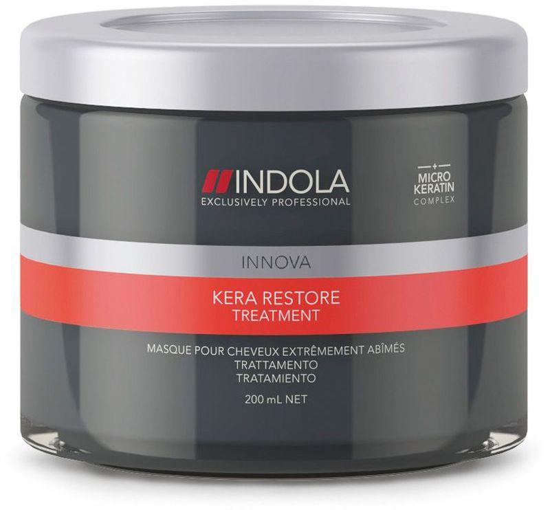 Indola Маска Кератиновое Восстановление Kera Restore Treatment 200 мл спреи indola солевой спрей indola 200 мл