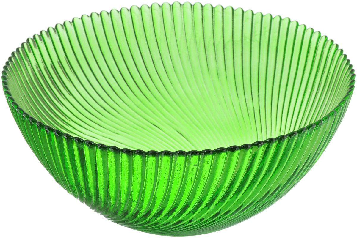 Салатник NiNaGlass Альтера, цвет: зеленый, диаметр 20 см83-038-ф200 ЗЕЛСалатник NiNaGlass Альтера выполнен из высококачественного стекла. Внешние стенки декорированы красивым рельефным узором. Салатник идеален для сервировки салатов, овощей, ягод, сухофруктов, гарниров и многого другого. Он отлично подойдет как для повседневных, так и для торжественных случаев.Такой салатник прекрасно впишется в интерьер вашей кухни и станет достойным дополнением к кухонному инвентарю.Диаметр салатника (по верхнему краю): 20 см.Высота стенки: 9 см.