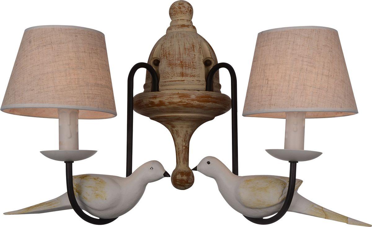 Бра Favourite Birds, 2 х E14, 40. 1594-2W1594-2W