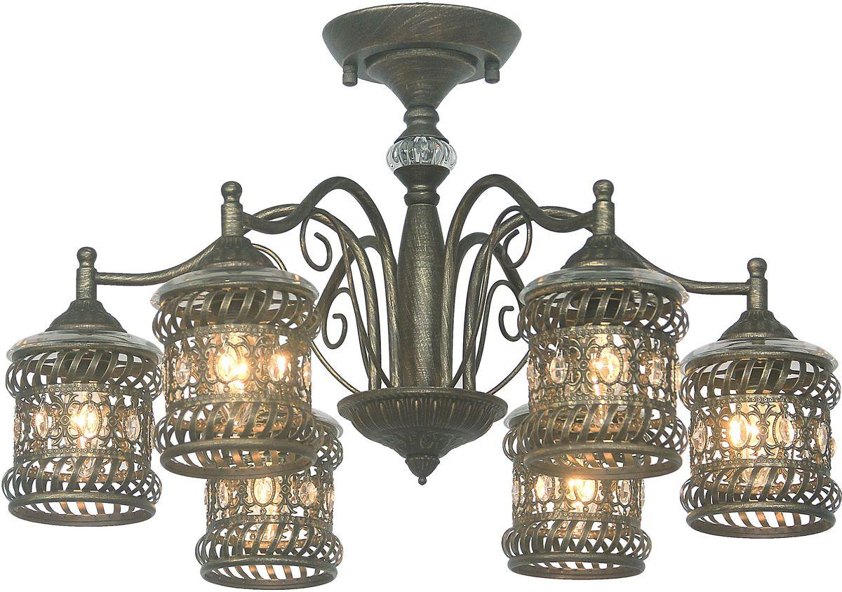 Люстра потолочная Favourite Arabia, 6 х E14, 40W. 1621-6P1621-6P